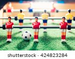 table football game  abstract... | Shutterstock . vector #424823284