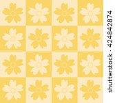 sakura tiles pattern.sakura...   Shutterstock .eps vector #424842874