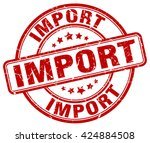 import. stamp | Shutterstock .eps vector #424884508