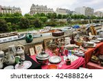 Flea Market  At Embankment Of ...