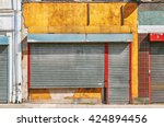 old store fronts. | Shutterstock . vector #424894456