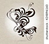 vintage element for design ...   Shutterstock .eps vector #424896160
