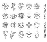 universal flower icons to use...