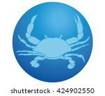 crab icon. crab illustration. | Shutterstock .eps vector #424902550