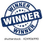 winner. stamp | Shutterstock .eps vector #424906990