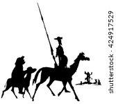 Don Quixote And Sancho Panza...