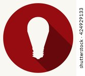 led lamp icon   Shutterstock .eps vector #424929133