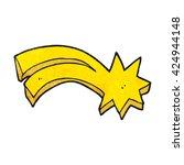 freehand textured cartoon... | Shutterstock .eps vector #424944148