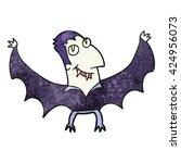 freehand textured cartoon...   Shutterstock .eps vector #424956073