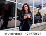 woman | Shutterstock . vector #424970614