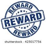 reward. stamp | Shutterstock .eps vector #425017756