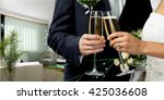 wedding. | Shutterstock . vector #425036608