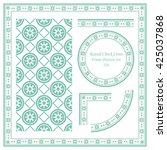 Vintage Frame Pattern Set 326...