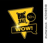 big sale banner design.vector...   Shutterstock .eps vector #425048548