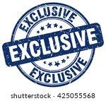 exclusive. stamp | Shutterstock .eps vector #425055568