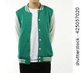 baseball jacket | Shutterstock . vector #425057020