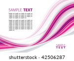 pink abstract background. vector | Shutterstock .eps vector #42506287