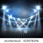 concert light show  stage... | Shutterstock . vector #425078296