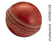Old Cricket Ball