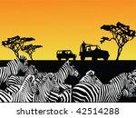 africa safari vector | Shutterstock .eps vector #42514288