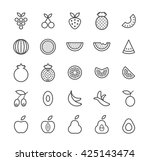 set of quality isolated... | Shutterstock .eps vector #425143474