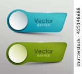 vector banners set | Shutterstock .eps vector #425148688