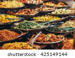 a lot of vegetables | Shutterstock . vector #425149144