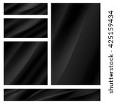 abstract vector set of blank... | Shutterstock .eps vector #425159434