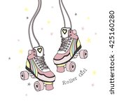 Rollers Print  Roller Girl ...