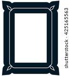 border frame molding line deco... | Shutterstock .eps vector #425165563