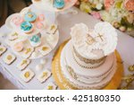 cake decorating | Shutterstock . vector #425180350