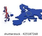 Map Of United Kingdom With Arm...