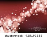 abstract vector background with ... | Shutterstock .eps vector #425193856