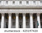 united states court house.... | Shutterstock . vector #425197420