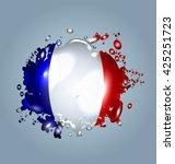 vector illustration of water... | Shutterstock .eps vector #425251723
