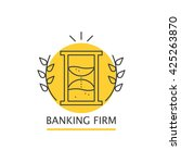 vector colorful banking firm... | Shutterstock .eps vector #425263870