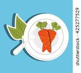 healthy food design   Shutterstock .eps vector #425277529