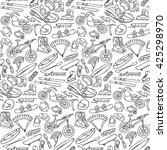 hand drawn doodle extreme... | Shutterstock .eps vector #425298970