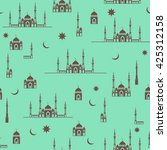ramadan kareem vector design... | Shutterstock .eps vector #425312158