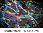 abstract art | Shutterstock . vector #425316298
