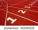 Lanes Of Running Track