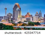 San Antonio Texas Usa Skyline - Fine Art prints