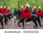 Royal Guards On Horseback...