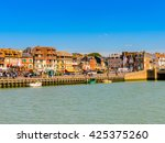 trouville  france   jun 7  2015 ... | Shutterstock . vector #425375260