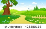 vector cartoon illustration of... | Shutterstock .eps vector #425380198