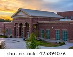 school building   north america ... | Shutterstock . vector #425394076