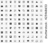 universal line icons set ...