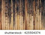 Vintage Brown Wooden Backgroun...