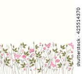 seamless floral pattern with... | Shutterstock .eps vector #425514370