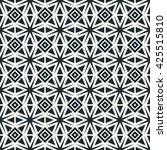 geometric line monochrome...   Shutterstock . vector #425515810